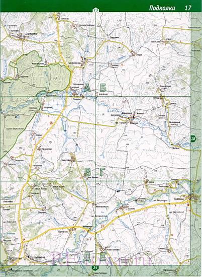 Карта Бузулукского района