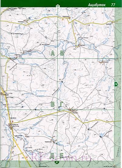 Новосергиевский Район Карта