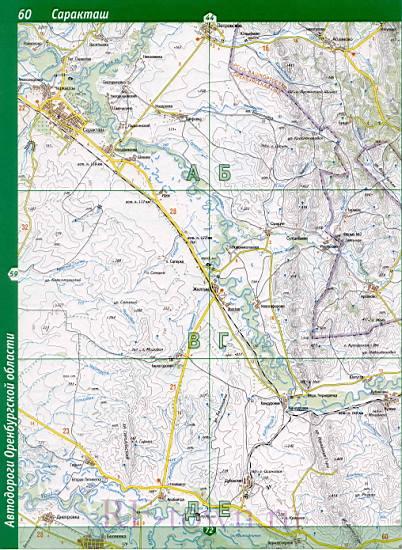 Сакмарский Район Карта