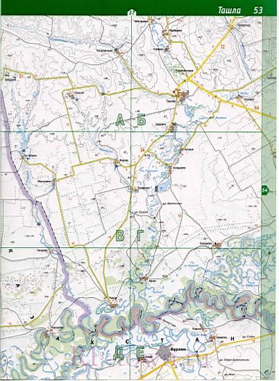 Карта Тоцкого Района Оренбургской Области Со Спутника